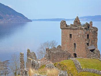 Sightseeing in Scottish Highlands