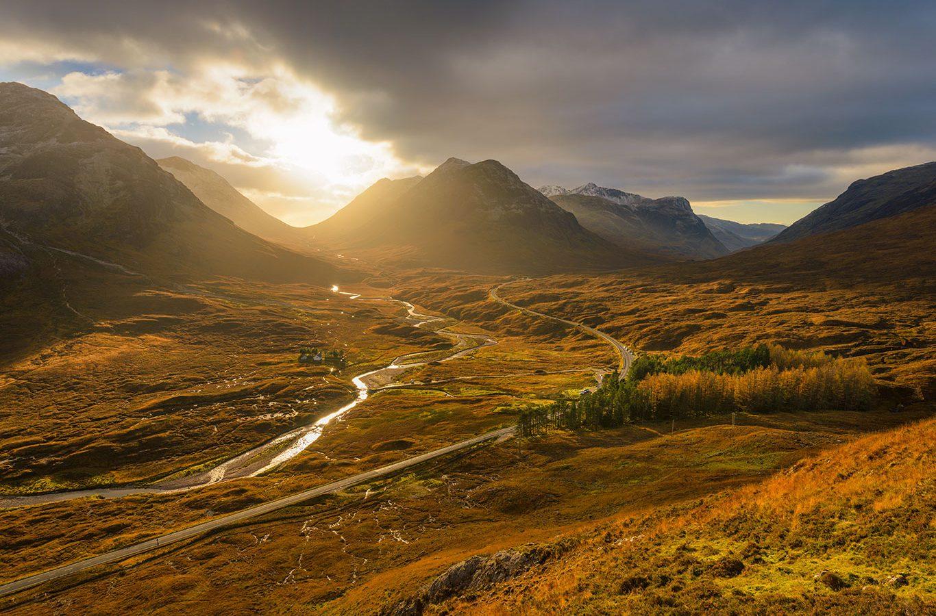 autumn holidays highlands of scotland